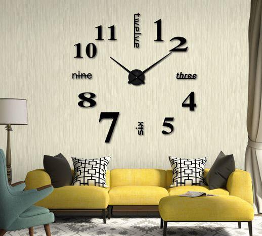 Kết quả hình ảnh cho đồng hồ dán tường