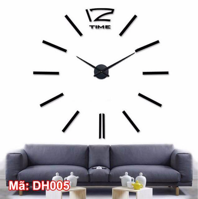 Đồng hồ dán tường mã DH005