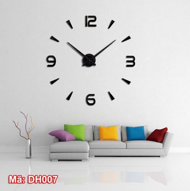 Đồng hồ dán tường mã DH007