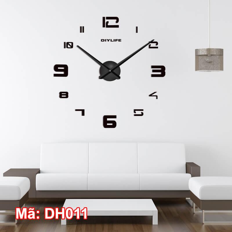 Đồng hồ dán tường mã DH011