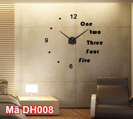 DH008 màu đen có thể lắp tại mọi căn phòng