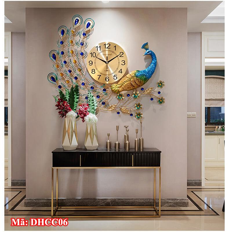 Đồng hồ dùng để trang trí phòng khách
