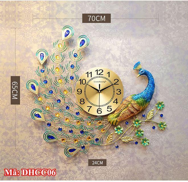 đồng hồ treo tường cần thơ mã DHCC06