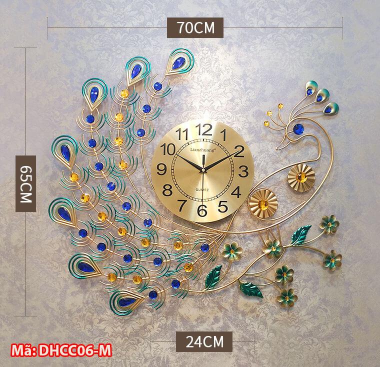 mẫu đồng hồ treo tường
