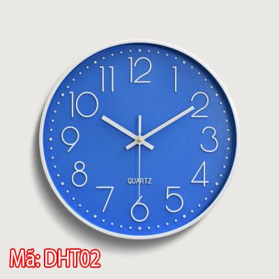 đồng hồ treo tường tối giản