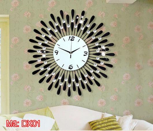 Đồng hồ treo tường phản quang mã DX01