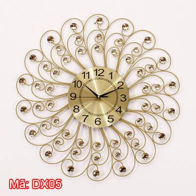 Đồng hồ treo tường kim trôi mã DX05