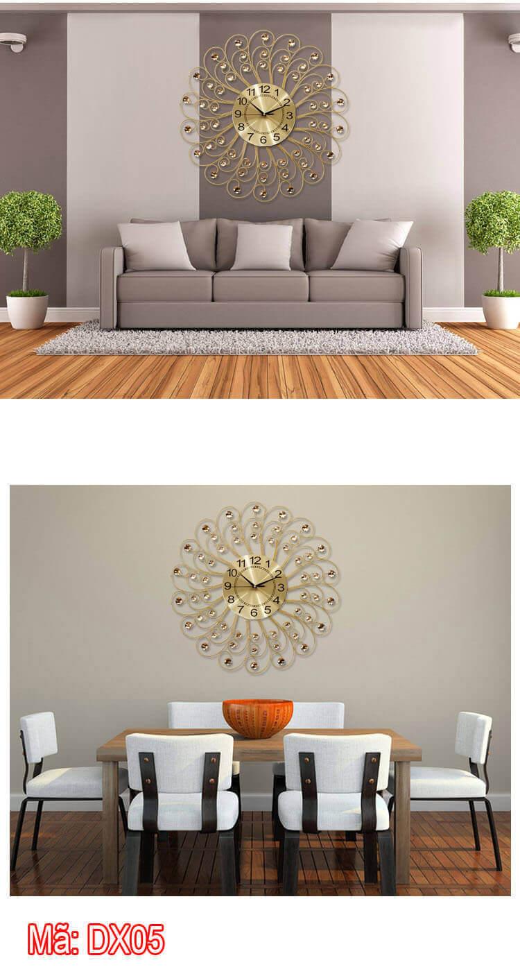 DX05 trang trí phòng khách rất sang trọng