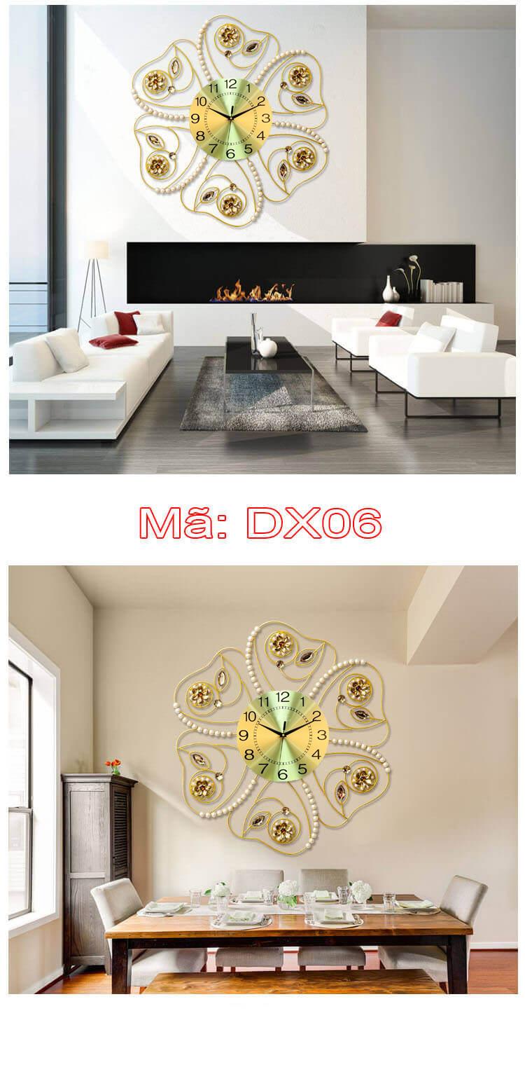 Đồng hồ trang trí mã DX06