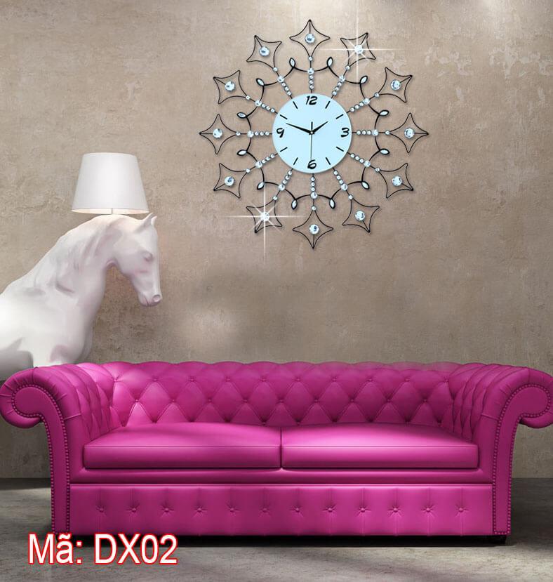 Đồng hồ DX02 treo phòng khách