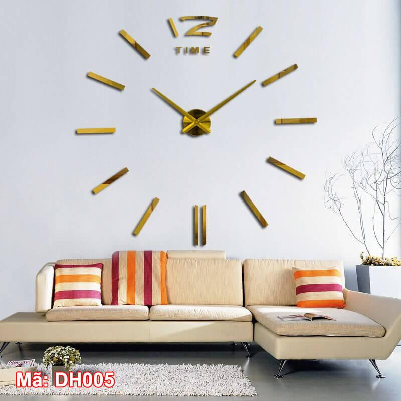 Đồng hồ dán tường DH005