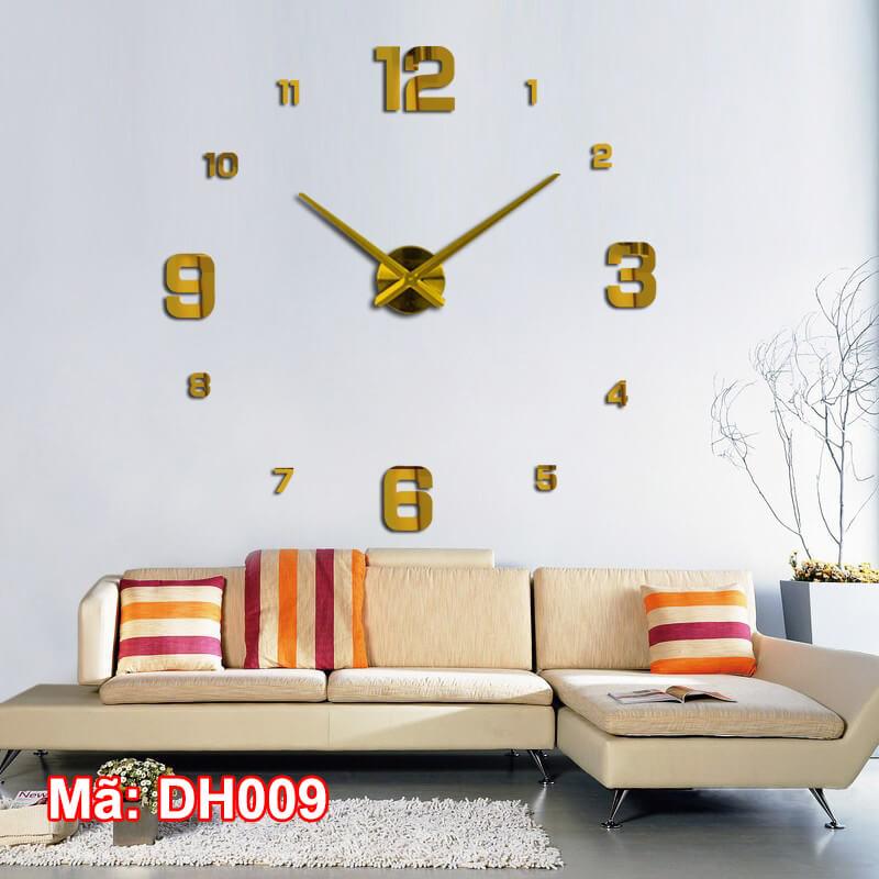Đồng hồ dán tường DH009