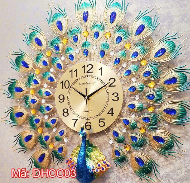 đồng hồ treo tường thời trang DHCC03