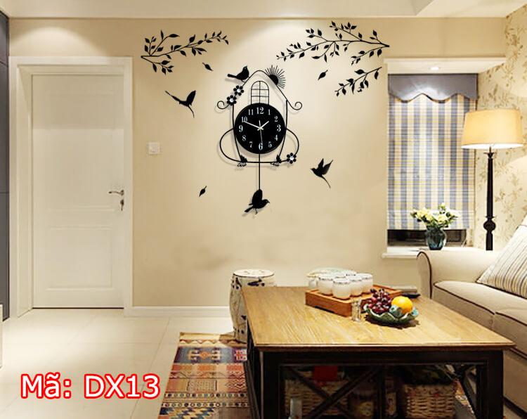 đồng hồ treo tường dễ thương