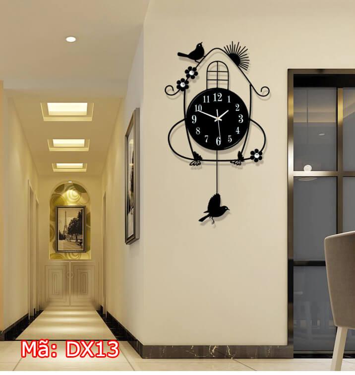 Đồng hồ trang trí quả lắc DX13