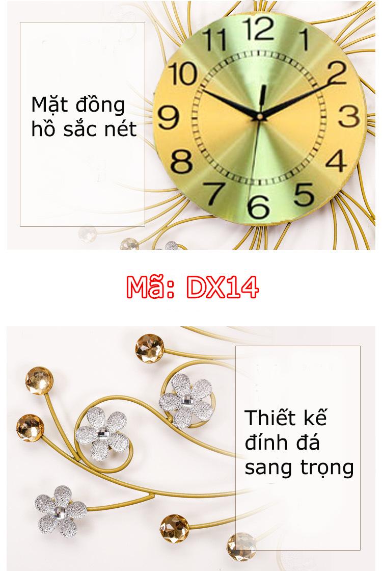 Đồng hồ được thiết kế rất tinh xảo