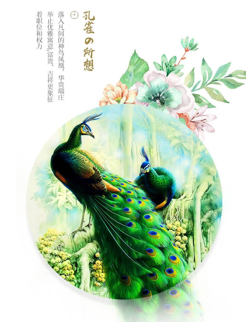 Chim công là biểu tượng của cái đẹp