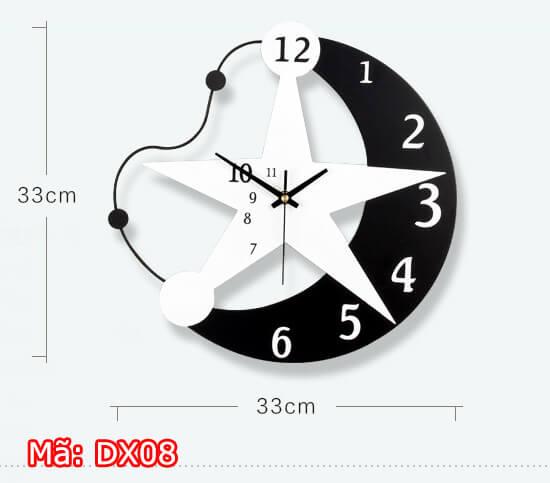 Đồng hồ treo tường giá dưới 500k