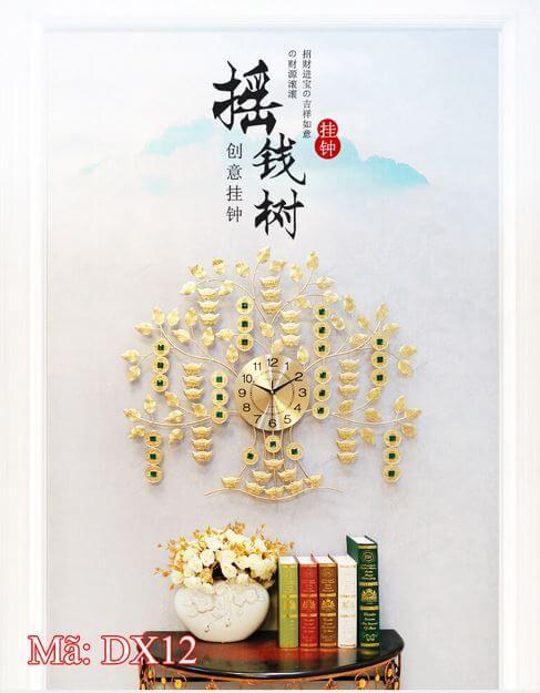 đồng hồ treo tường quy nhơn cây kim tiền