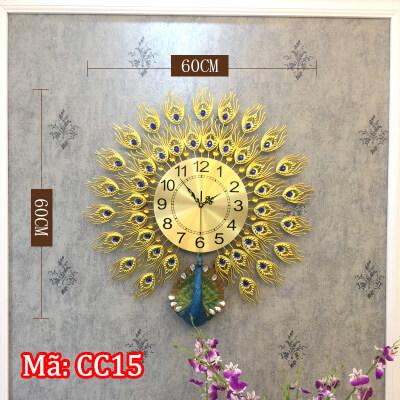 đồng hồ con công CC15