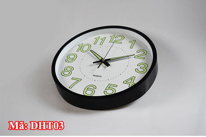 đồng hồ treo tường giá rẻ tại hải phòng mã DHT03