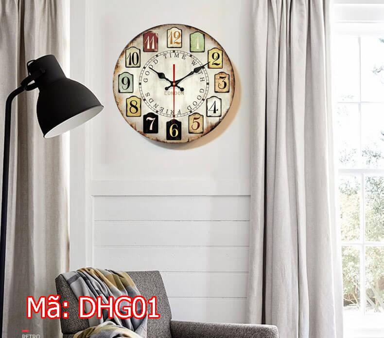 đồng hồ treo tường cho khách sạn