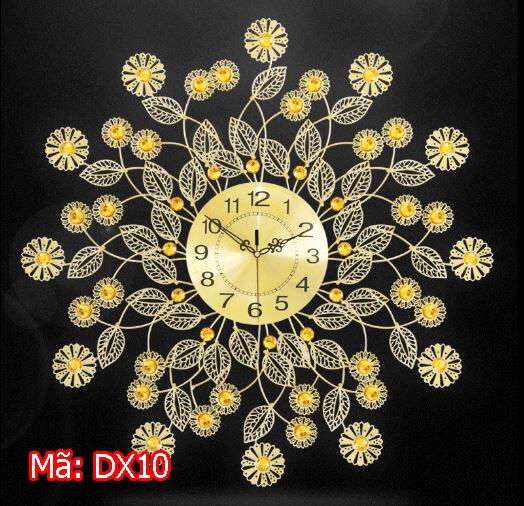 Đồng hồ treo tường kim trôi mã DX10