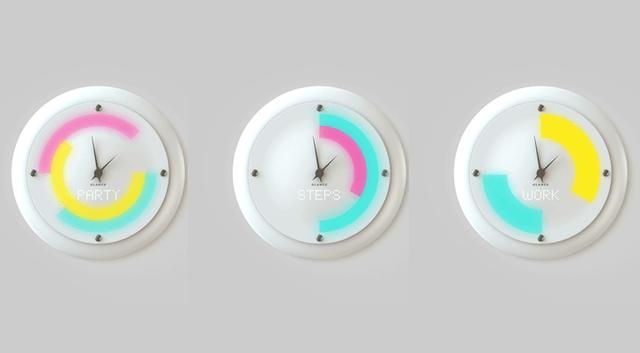 Đồng hồ treo tường thông minh Glance Clock rất đẹp