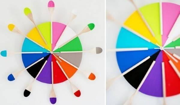 Cách làm đồng hồ bằng bìa cứng