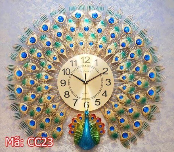 đồng hồ treo tường biên hòa mã CC23
