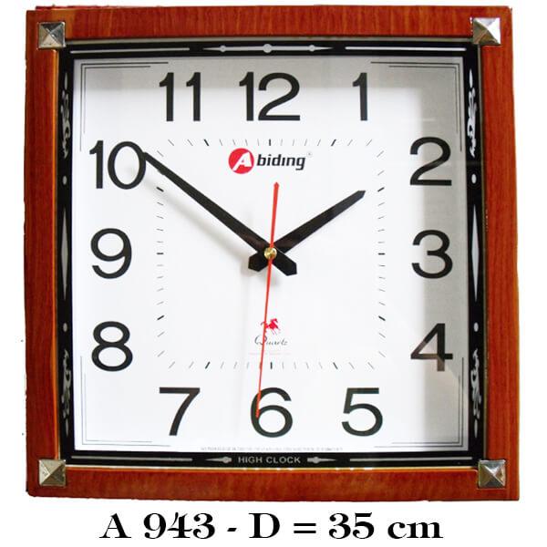 đồng hồ treo tường hình vuông
